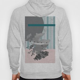 Scotland, the land of the mountains multi-coloured Hoody