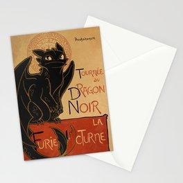 Le Dragon Noir Stationery Cards