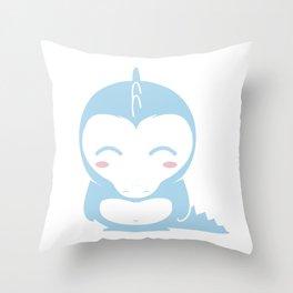 IL DINO BLU &company Throw Pillow