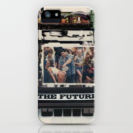 The Future of Home Stereo - Vintage Collage iPhone Case