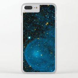 Outer Space 2 Clear iPhone Case