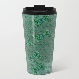 Heaven and Ocean and some clouds Involved. Travel Mug