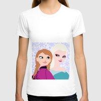 frozen T-shirts featuring Frozen by Sammycrafts