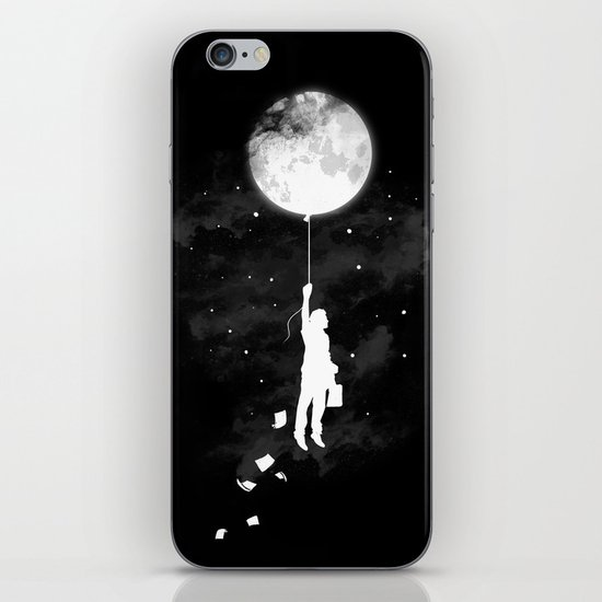 Midnight Traveler iPhone & iPod Skin