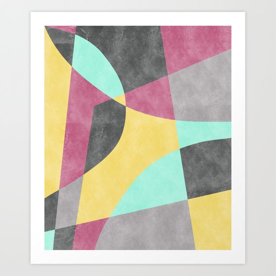 Fragments II Art Print