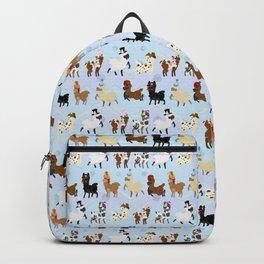 Llamas In Hats Backpack