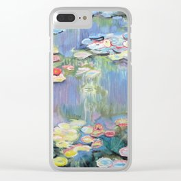 Homage to Monet Clear iPhone Case