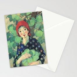 12,000pixel-500dpi - Takehisa Yumeji - Blue Fruits - Digital Remastered Edition Stationery Cards