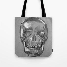 grungy skull Tote Bag