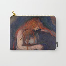 Edvard Munch - Vampire Carry-All Pouch