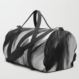 Abstract Artwork Greyscale #1 Duffle Bag