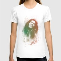 marley T-shirts featuring Marley Bob by getzair
