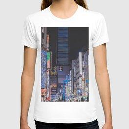 Tokyo feels: shinjuku blue T-shirt