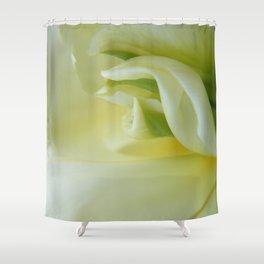 White Tulip by Teresa Thompson Shower Curtain