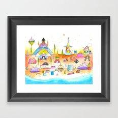 Minotaureland 1 Framed Art Print