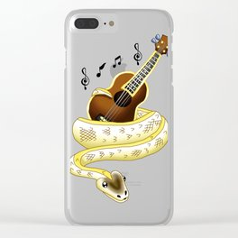 Snake Piece #22 - AJ's Ivory Clear iPhone Case