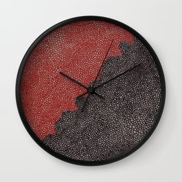Our Blood VS Your Oil Wall Clock