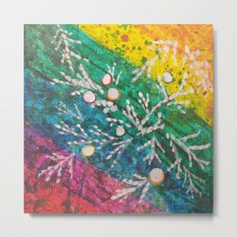 Leaves on the World Tree: Brahui Juniper Metal Print