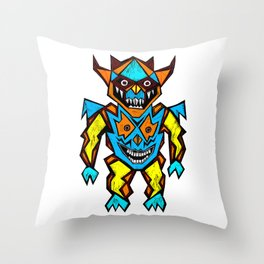Warlord Throw Pillow