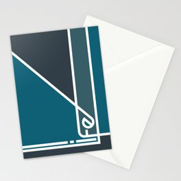 Life in Abstract Stationery Cards