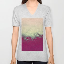 Disctraction Space Unisex V-Neck