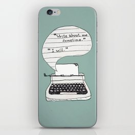 PERKS OF BEING A WALLFLOWER. iPhone Skin