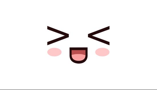 Hahaha Laughing Kawaii Face Xd Pillow Sham By Steelartstudios