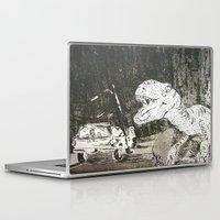 jurassic park Laptop & iPad Skins featuring Jurassic by Erika Marie Burke