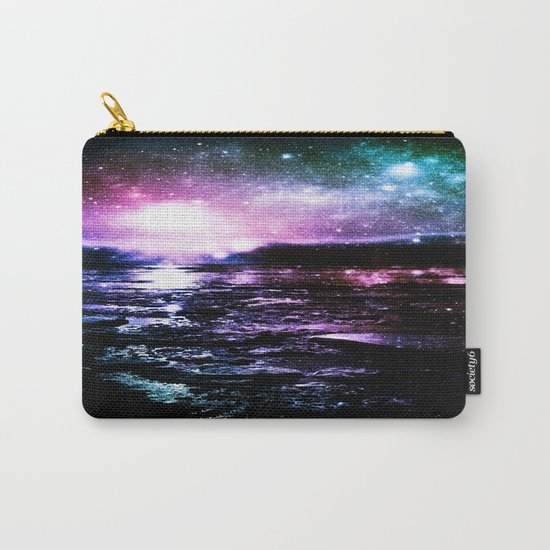 Mystic Waters Cool Tone Ombre Carry-All Pouch