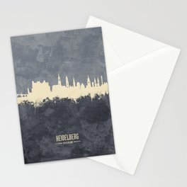 Heidelberg Germany Skyline Stationery Cards