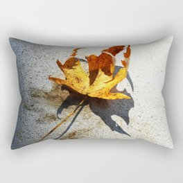 Clutching Leaf 1 Rectangular Pillow
