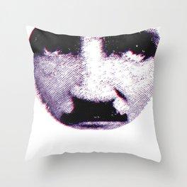Eddie looks sad Throw Pillow