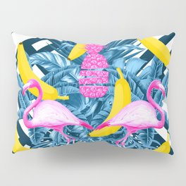 tropical banana fun  Pillow Sham