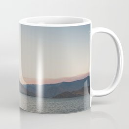 sunset over the lake ... Coffee Mug