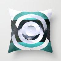 lake Throw Pillows featuring Lake Louise by Fimbis