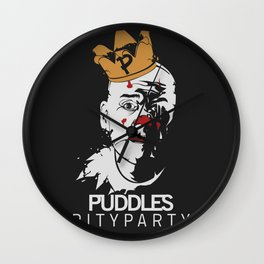 Puddles pityparty Wall Clock