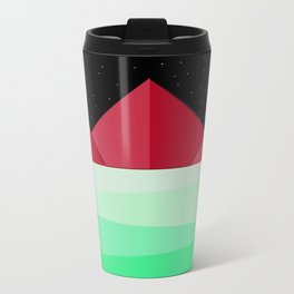 Mountain Design Travel Mug