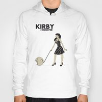 kirby Hoodies featuring Kirby Hoover by Lily's Factory
