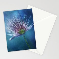 spring pasque flower Stationery Cards