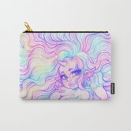 Rainbow Mermicorn (Pastel Version) Carry-All Pouch