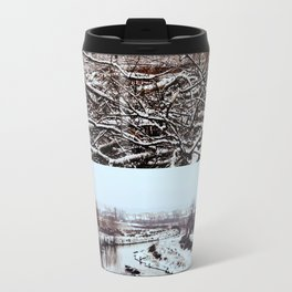 aqueous wastes // environmentalism Travel Mug