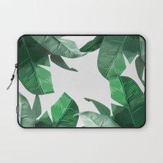 Tropical Palm Print Laptop Sleeve