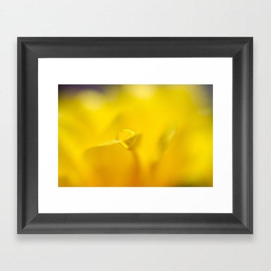 Drop of Sun Framed Art Print