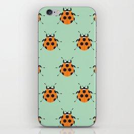 Lady Bug Green iPhone Skin