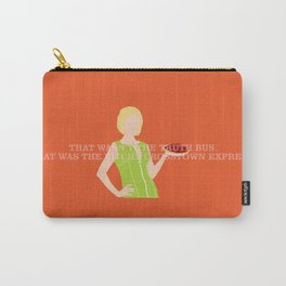 Pushing Daisies - Olive Carry-All Pouch