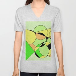 Bubbling over with Joy!                  by Kay Lipton Unisex V-Neck