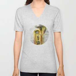 Solo tuba Unisex V-Neck