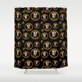 Elementalist LUX pattern Shower Curtain