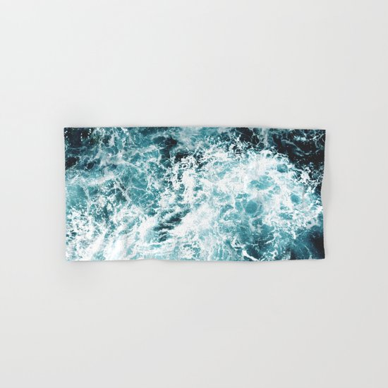 Sea Waves Hand & Bath Towel