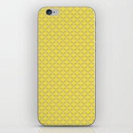 Small scallops in buttercup yellow iPhone Skin